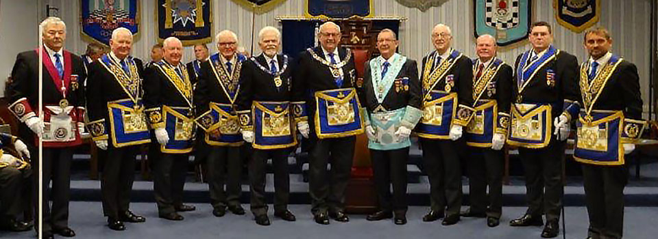 Pictured left to right, are: John Pitches, Bob Graham, Harry Cox, Terry Hudson, David Randerson, Philip Gunning, Steve Willingham, Peter Greenhead, Duncan Smith, Jim Finnegan and David Thomas.