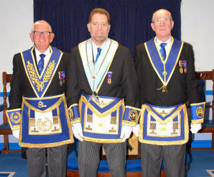 Derek becomes WM of Fermor Hesketh Lodge