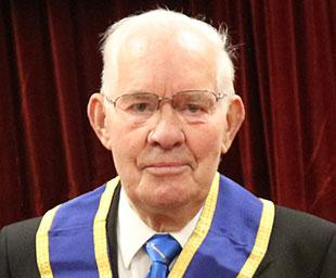 Alan celebrates 50 years as a Freemason