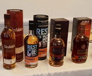 Whisky galore at Quadrant