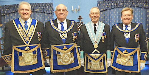 Pictured from left to right, are: Andrew Whittle, Philip Gunning, Alan Carter and Kevin Poynton