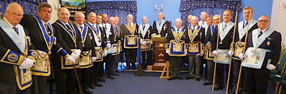 Members of the lodge.