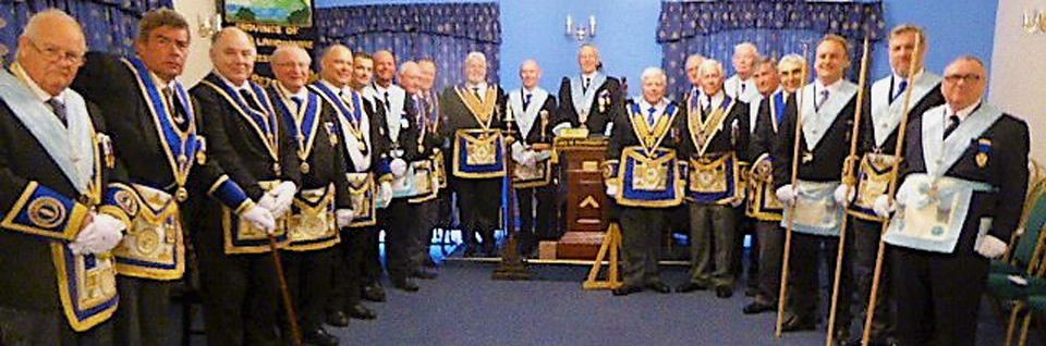 Members of the lodge.