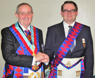 Proclamation and exaltation in Grassendale Chapter