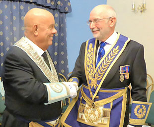 Stephen Robinson installed as master of Toxteth