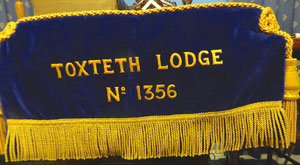 Lodge Bible cushion.