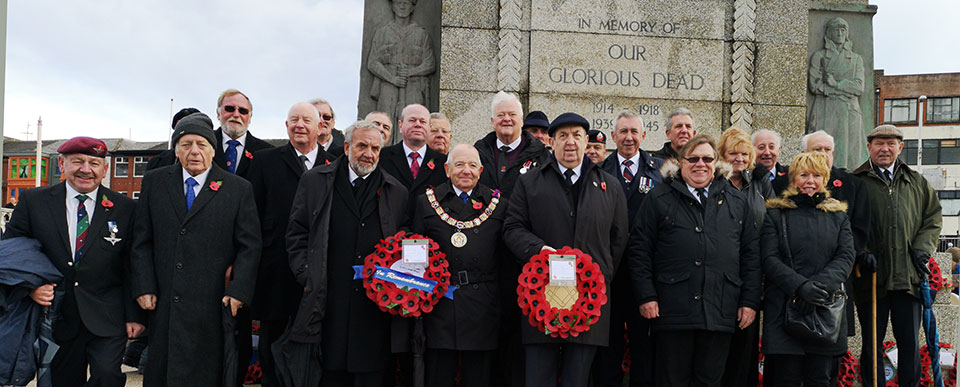 Comrades and brethren remembered.