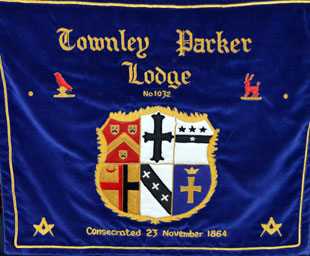 Peter Leigh is master of Townley Parker Lodge