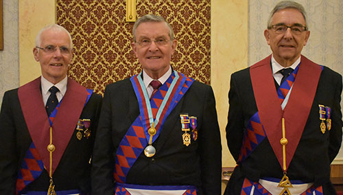 Pictured from left to right, are; Allan Mills, Jim Richards and John Torrance.