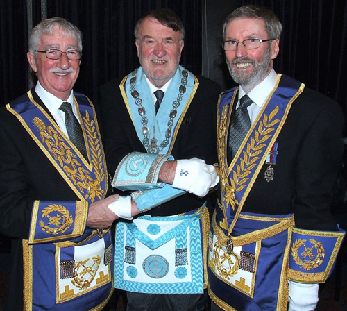 Pictured from left to right, are: Bill Culshaw, Peter Duggan and David Hilliard.