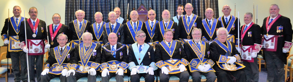 A host of illustrious grand and acting Provincial grand officers.