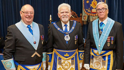 Pictured from left to right, are: Brian Brittain, David Randerson and Mike Peckett.