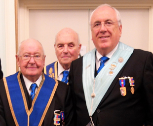 Merchants' hold their 238th installation