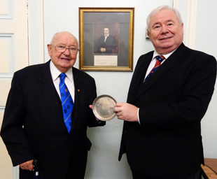 Merchants' silver salver returns