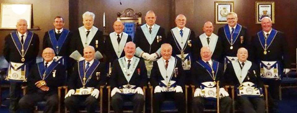 Brethren of Mount Lodge.