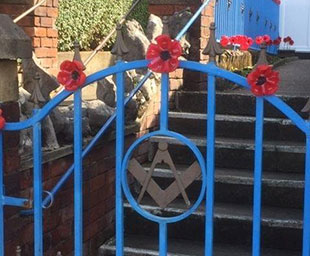 Remembrance Sunday at Fleetwood