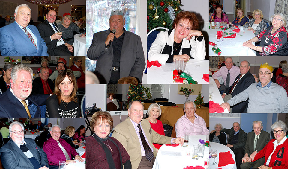 Scenes from the FROTH Christmas lunch.