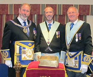 Father installs son at Rufford Lodge