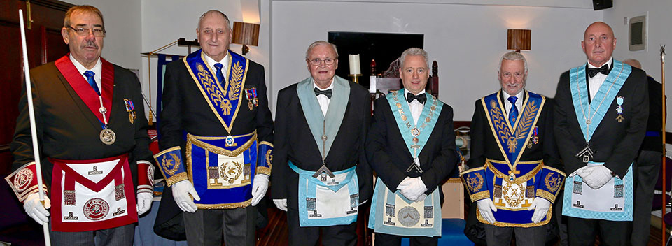 Pictured from left to right, are: Peter Ledder, Ian Greenwood, Ian Bacon, Mark Reilly, Geoff Saul and Mike Brownlee.