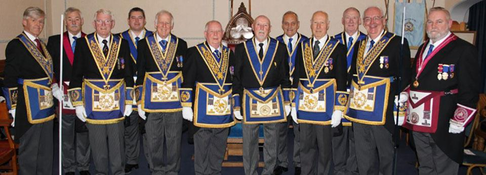Pictured from left to right, are: Ian Ward, John Pitches Ted Vollans, Jim Finnegan, Malcolm Worsley, Harry Cox, Trevor Molloy, Chris Tittley, Peter Elmore, Gordon Smith, Ted Rhodes and Gary Smith.