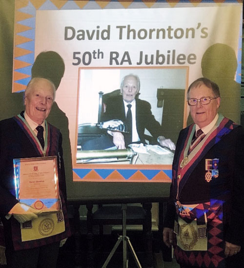 David Thornton (left) and Colin Rowling.