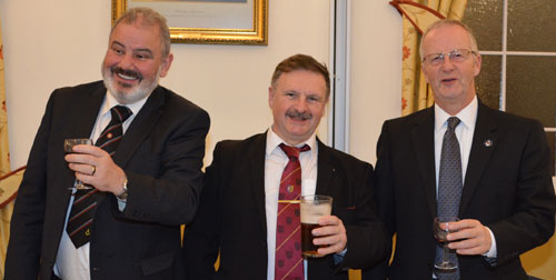 Pictured from left to right, are: Steve Wallace, Eric Miller and Michael Williams.