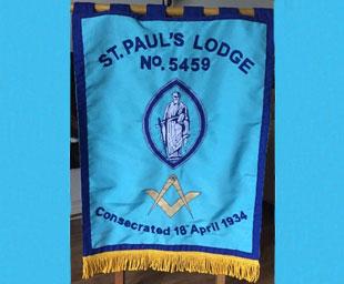 St Paul's banner dedication