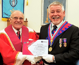 Widnes Chapter attains vice patron status