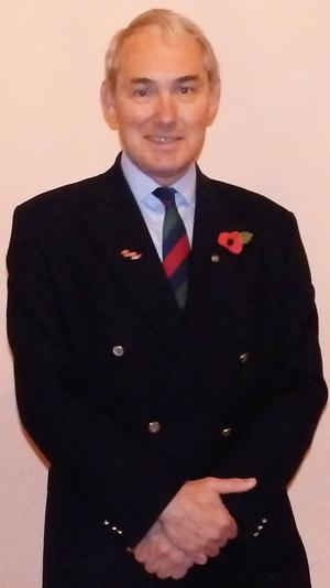 Colonel Phil Naylor OBE.
