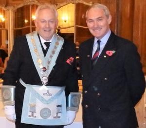 Ian Walton (left) and Phil Naylor.