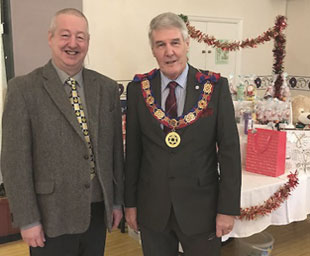 Christmas Fair raises £1,400 for soft furnishings