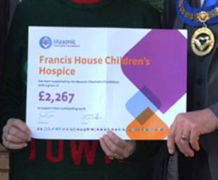 Francis House awarded a grant from the MCF