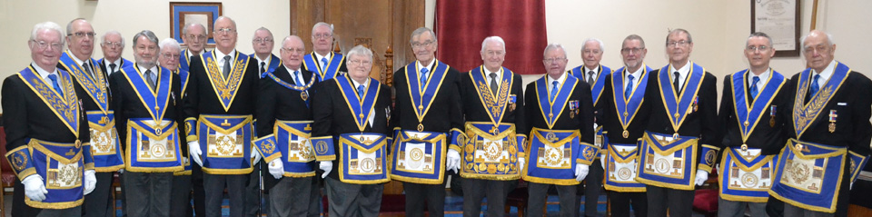 The 'Good and the Great'. Coin Martin's phalanx of impressive guests.