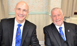 The new DC Bryan Cambidge (left) and new ADC Nicholas Baxter.