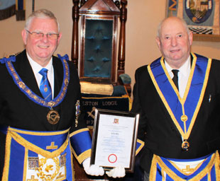 A golden jubilee for Colin at Eccleston