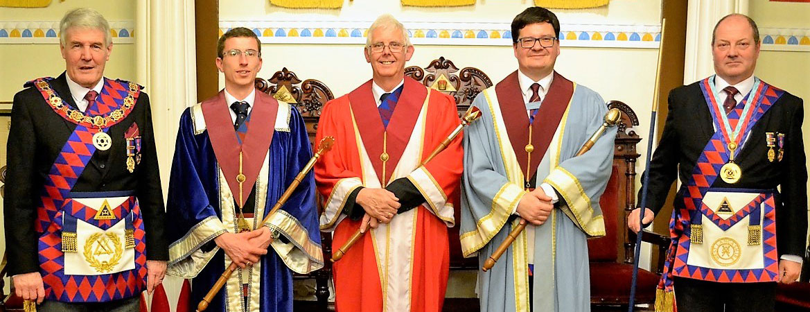 Pictured from left to right, are: Paul Renton, Chris Bruffell, John Bruffell, Graham Edwards and Mark Barton.