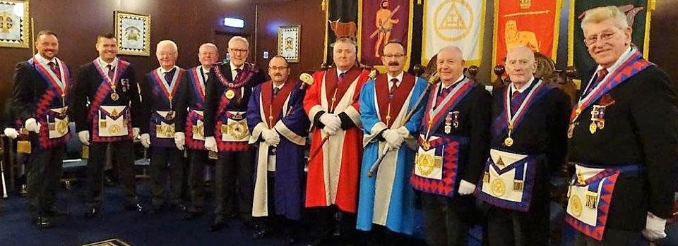 Pictured form left to right, are: Neil MacSymons, John Lee, Keith Jackson, Duncan Smith, Ian Higham, David Wright, Mark Tomlinson, Paul Smedley, Harry Cox, Tony Hough and Martyn Jones.