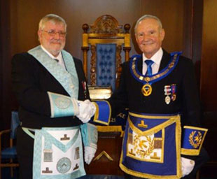 Pharos Lodge installs Brian