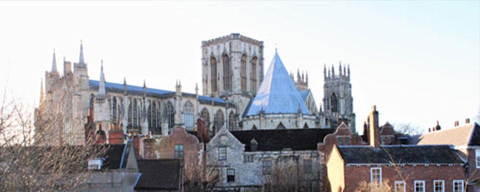 The majestic York Minster.