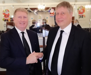 Starkie Lodge welcomes a new brother