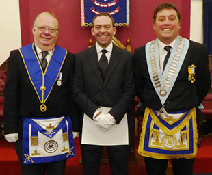 Gareth initiated in Gloucestershire with Sincerity