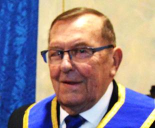Gordon Weston's 50 years in Freemasonry