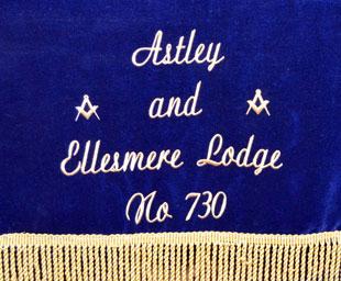 Robert Winn is master of Astley and Ellesmere Lodge