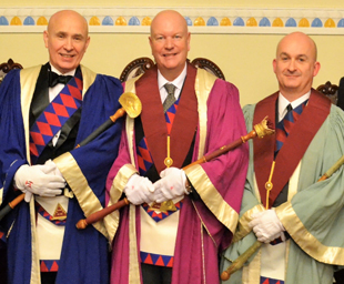 Paul installed at Downshire Chapter