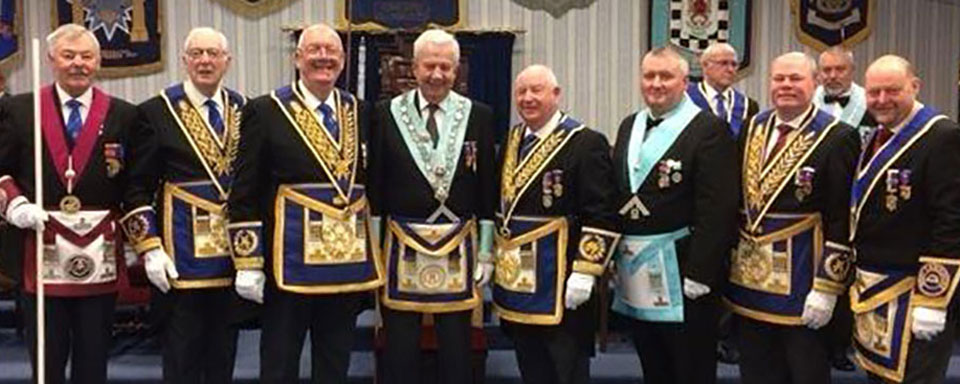Pictured from left to right, are: John Pitches, Peter Greathead, Ted Rhodes, Howard Shaw, Harry Cox, Mark Tomlinson, Duncan Smith and John Cross