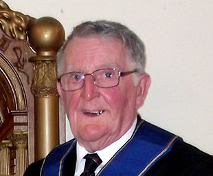 Bryan celebrates 50 years in Freemasonry