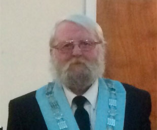 Lodge of Harmony installs John as master