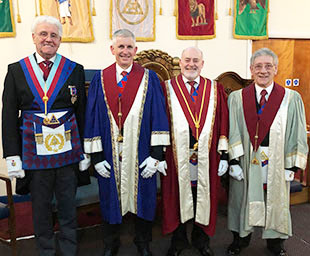 Stanley of Bickerstaffe Chapter installation