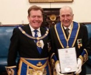 Special occasion for Lodge of Unity
