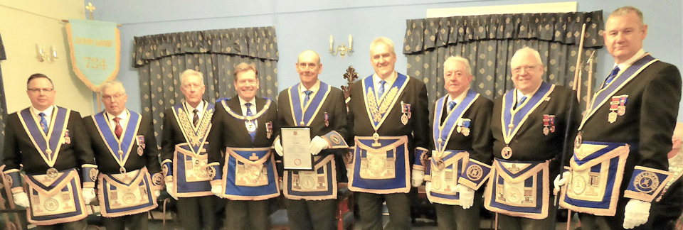 Grand and acting Provincial grand officers.